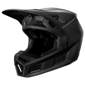 Casque cross V3 - SOLIDS - CARBONE BLACK 2020 Carbone