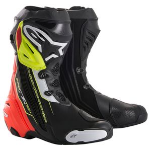 Bottes SUPERTECH R  Black/Red/Yellow