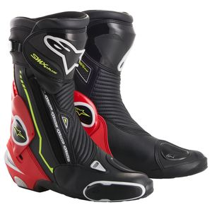 Bottes SMX PLUS  Black/White/Red/Yellow