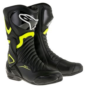 Bottes SMX 6 V2  Black/yellow
