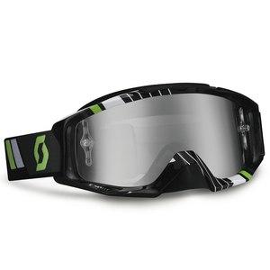 Masque cross TYRANT  RACE IRIDIUM 2015 Noir/Vert