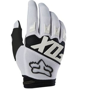 Gants Cross Fox Dirtpaw - Race - White 2019