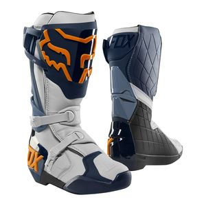 Bottes cross COMP R - NAVY ORANGE 2019 Navy Orange