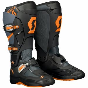 Bottes Cross Scott 550 - Gris Orange - 2018