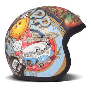 Casque VINTAGE WOODSTOCK  Multicolore