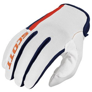 Gants Cross Scott Destockage 350 Dirt Bleu Orange 2016