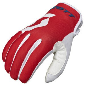 Gants Cross Scott Destockage 350 Track Bleu Rouge 2016