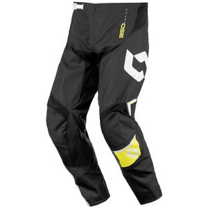Pantalon cross 350 DIRT JUNIOR  NOIR JAUNE 2016 Noir/Jaune