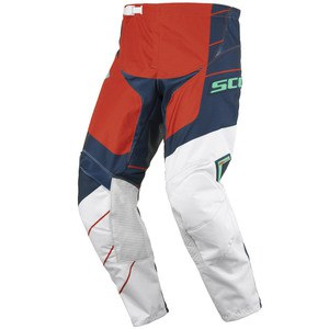 Pantalon Cross Scott Destockage 350 Race Bleu Orange 2016