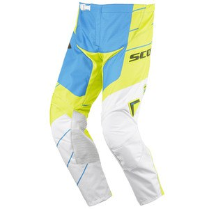 Pantalon Cross Scott Destockage 350 Race Vert Bleu 2016