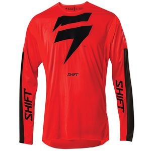 Maillot cross 3LACK LABEL RACE RED BLACK 2020 Rouge