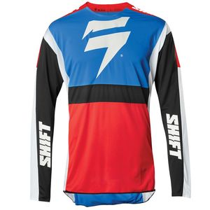 Maillot cross 3LACK LABEL RACE 2 BLUE RED 2020 Bleu/Rouge