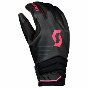 Gants cross 350 INSULATED - NOIR ROSE - 2018 Noir/Rose
