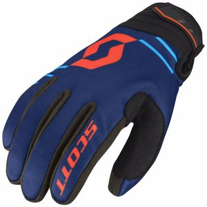 Gants cross 350 INSULATED - BLEU ORANGE - 2018 Bleu/Orange