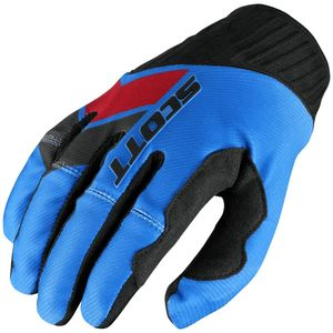 Gants Cross Scott Destockage 450 Podium Gi Ove Blue Red 2017