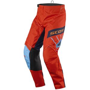Pantalon Cross Scott Destockage 350 Dirt Blue Orange 2017