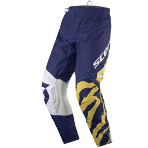 Pantalon Cross Scott Destockage 350 Race Blue White 2017