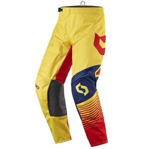 Pantalon Cross Scott Destockage 350 Track Yellow Red 2017