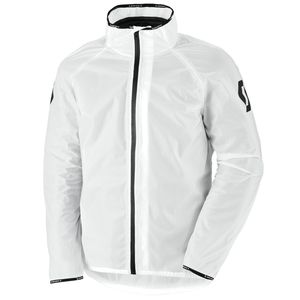 Veste de pluie ERGONOMIC LIGHT DP RAIN -  Blanc