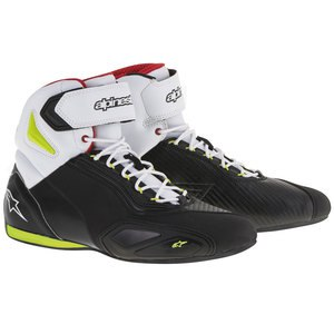 Baskets FASTER-2  Black/yellow/fluo