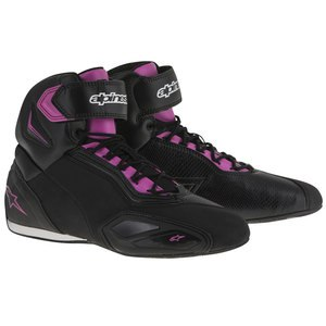 Baskets STELLA FASTER-2  Black/Fuchsia