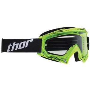 Masque Cross Thor Enemy Splatter Green Enfant 2019