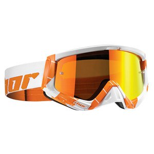 Masque cross SNIPER CHASE ORANGE WHITE 2020 Orange/Blanc