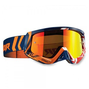 Masque Cross Thor Sniper Geo Navy Orange 2019