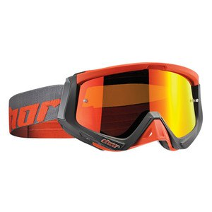 Masque cross SNIPER WARSHIP CHARCOAL ORANGE 2020 Gris/orange