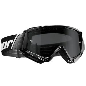 Masque cross COMBAT SAND BLACK WHITE 2020 Noir/Blanc