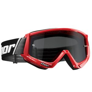 Masque cross COMBAT SAND RED BLACK 2020 Rouge/Noir
