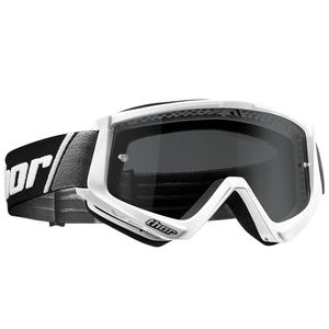 Masque cross COMBAT SAND WHITE BLACK 2020 Blanc/Noir