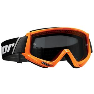 Masque cross COMBAT SAND FLO ORANGE BLACK 2021 Orange fluo/Noir