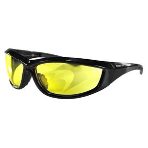 Lunettes moto CHARGER  Jaune