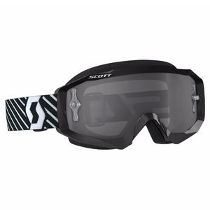 Masque cross HUSTLE MX - NOIR BLANC - ECRAN LIGHT SENSITIVE -  2018 Noir/Blanc