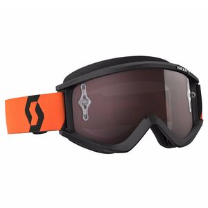 Masque cross RECOIL XI - NOIR ORANGE - ECRAN IRIDIUM WORKS -  2018 Noir/Orange