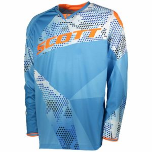 Maillot cross 350 RACE - BLEU ORANGE - 2018 Bleu/Orange