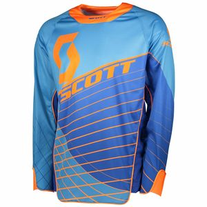 Maillot cross ENDURO - BLEU ORANGE - 2018 Bleu/Orange