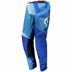 Pantalon cross 350 DIRT - BLEU BLANC - 2018 Bleu/Blanc