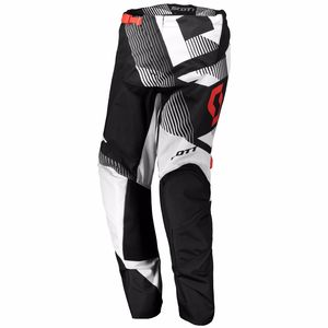 Pantalon cross 350 DIRT - NOIR BLANC - 2018 Noir/Blanc