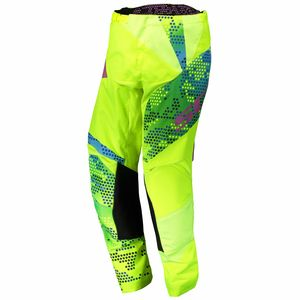 Pantalon cross 350 RACE JUNIOR - JAUNE BLEU -  Jaune/bleu