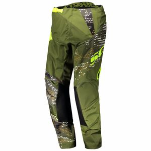 Pantalon cross 350 RACE JUNIOR - VERT JAUNE -  Vert/Jaune