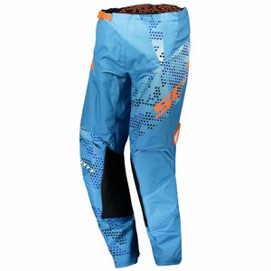Pantalon cross 350 RACE - BLEU ORANGE - 2018 Bleu/Orange