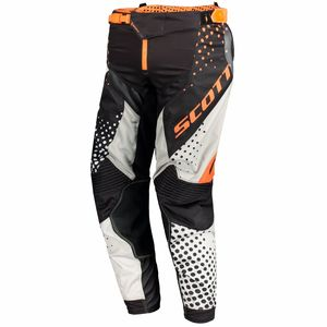 Pantalon cross 450 ANGLED - ORANGE NOIR - 2018 Orange/Noir