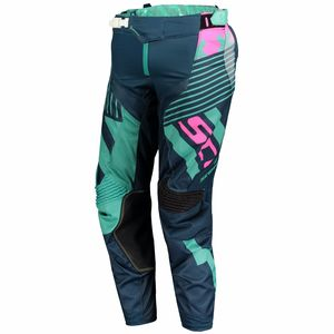 Pantalon cross 450 PATCHWORK - BLEU - 2018 Bleu