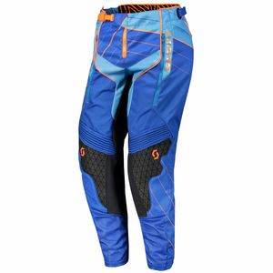 Pantalon cross ENDURO - BLEU ORANGE - 2018 Bleu/Orange
