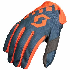 Gants cross 250 - ORANGE GRIS - 2018 Orange/Gris