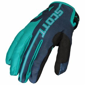 Gants cross 350 TRACK JUNIOR - BLEU -  Bleu