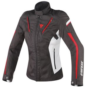 Blouson STREAM LINE LADY D-DRY  Black/Gray/Red
