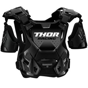 Plastron Thor GUARDIAN - ROOST DEFLECTOR - BLACK 2021